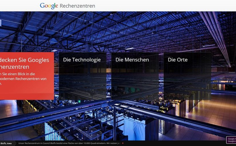 Einblicke in Google's Datenzentren