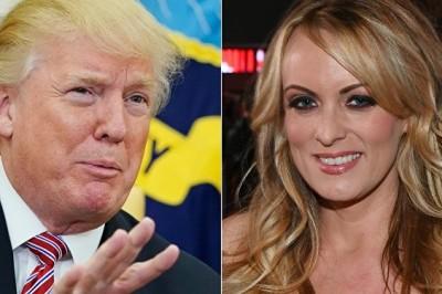 Porno Yıldızı: Trump Tehdit Ettirdi