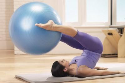 Pilates Topu İle Evde Egzersiz Hareketleri İzle