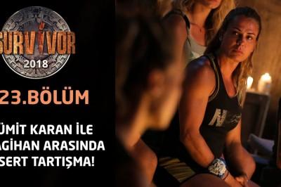 Survivor Ünlüler-Gönüllüler Survivor 2018, Ümit Karan ve Nagihan Karadere İzle