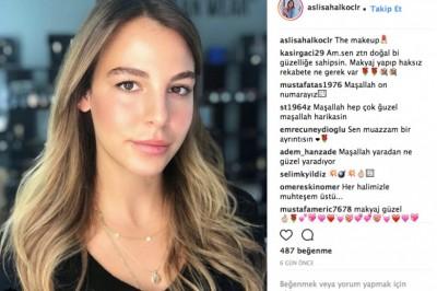 Aslışah Alkoçlar instagram hesabı çok renkli