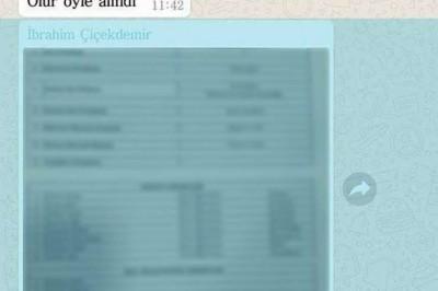 Sınav Yapılmadan Whatsapp'tan Atılan Torpil Listesi Gündeme Oturdu