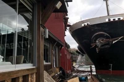 Boğazda Yalıya Çarpan Gemi - Fotoğraflar
