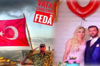 Afrin'de Uzman Çavuş Taner Çobanoğlu şehit düştü