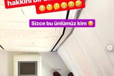 Uçakta Ayaklarını Diken Mehmet Ali'den Açıklama