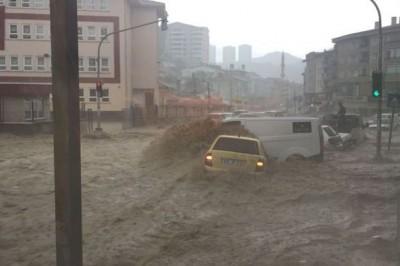 Bugün Ankara'yı Sel Vurdu