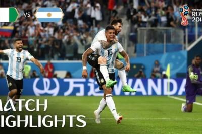 Nijerya Arjantin Dünya Kupası Maç Özeti golleri İzle
