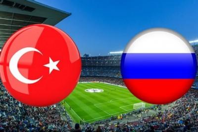 Türkiye Rusya Maçı Saat 19 TRT 1'de Canlı İzle