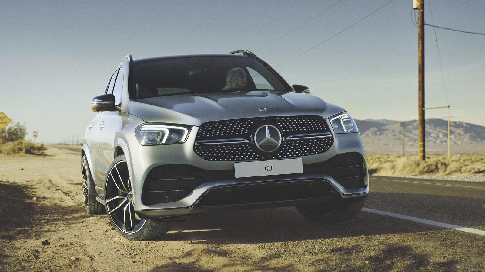 Nya GLE. Funktionell styrka.