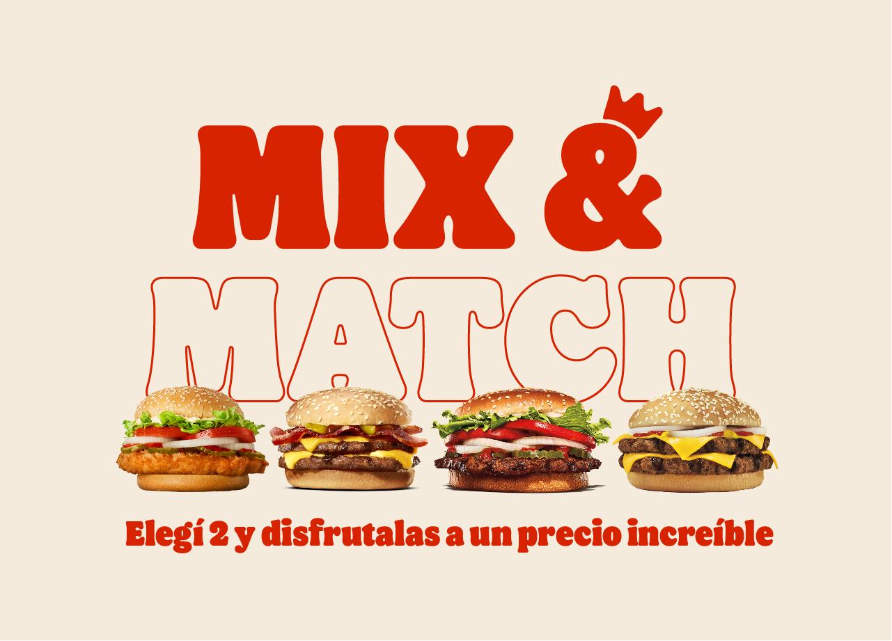 MIX AND MATCH image