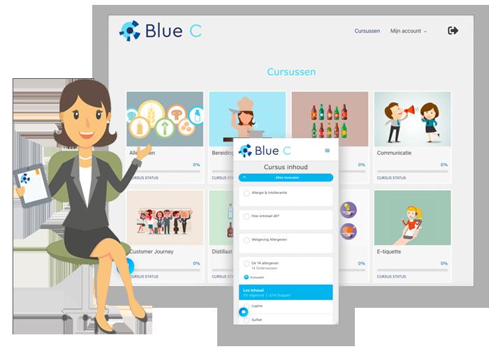 E-learning voor de horeca van Blue C
