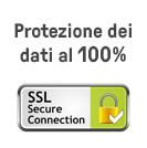 protezione dei dati al 100%!