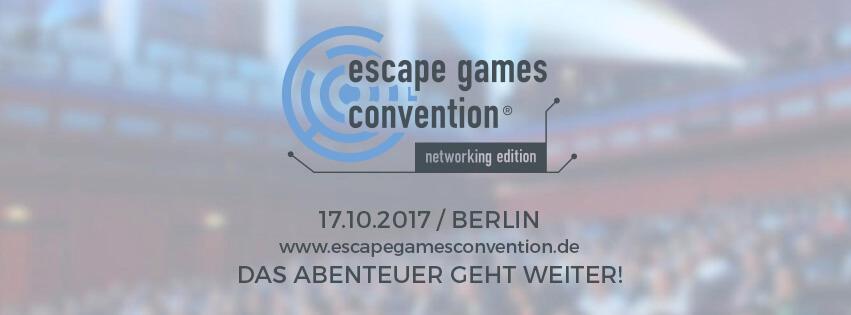 Escape Games Convention 2017