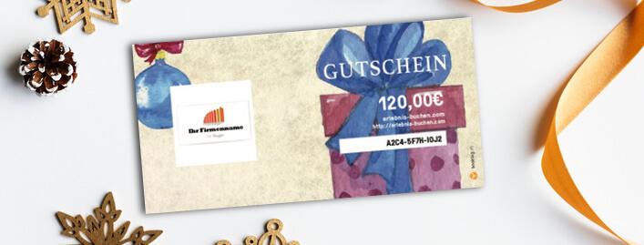Eigene Gutschein-Designs – der Turbo für deinen Gutscheinverkauf zu Weihnachten!