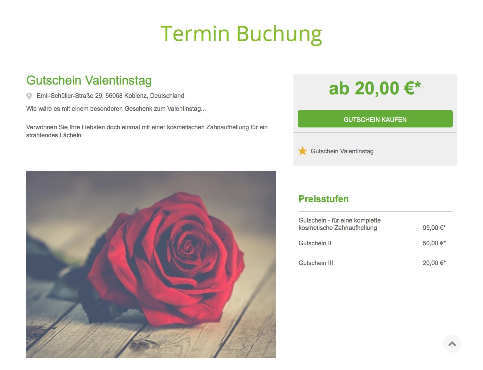 Ausgezeichnet Valentinstag Gutschein Buch Vorlage Zeitgenössisch ...