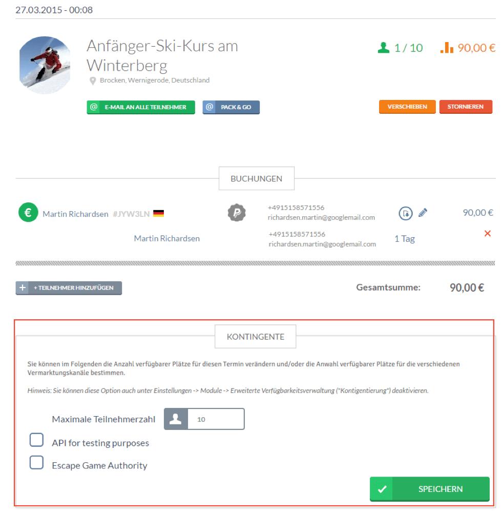 bookingkit-Überbuchungen verhindern-Buchungssystem-Kontingente