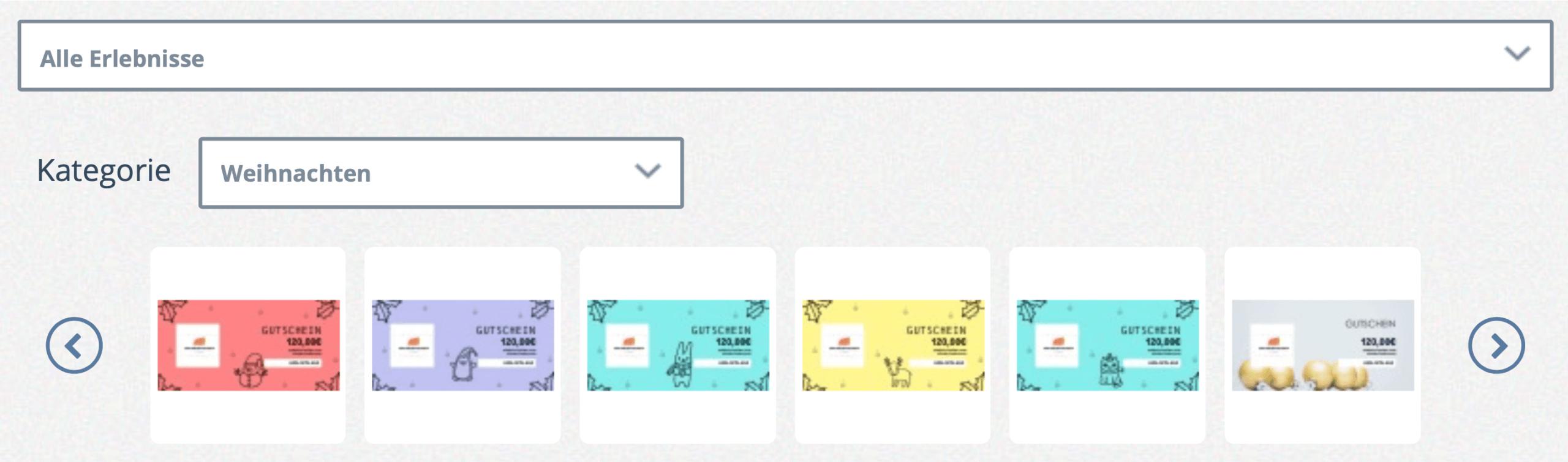 bookingkit-Gutscheinverkauf-zu-Weihnachten-Gutschein-Konfigurator-Screenshot