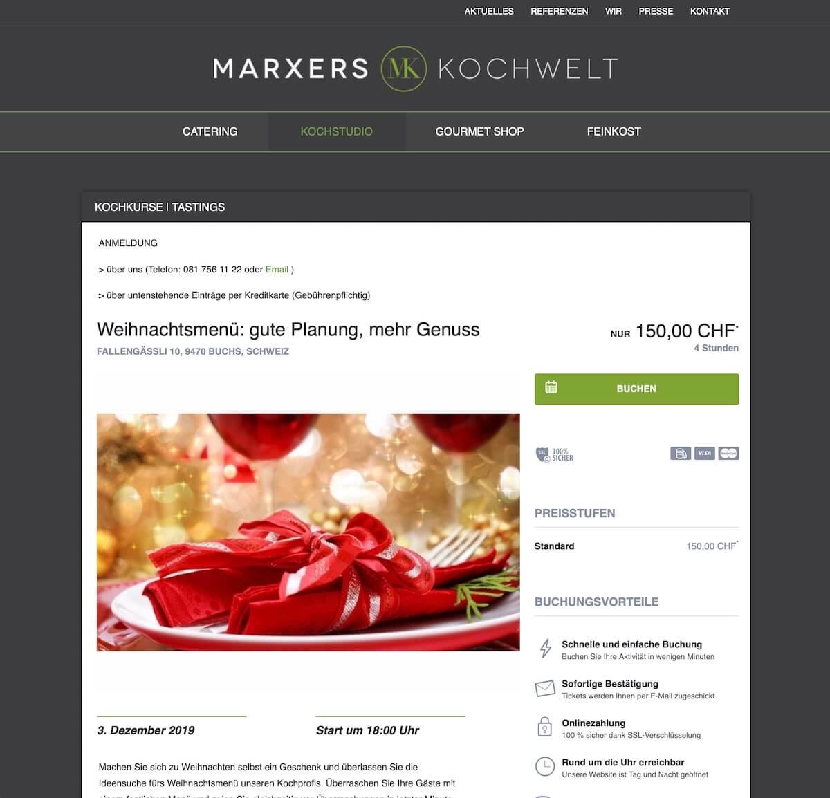 bookingkit-marketing-weihnachten-beispiel-Marxers-kochwelten