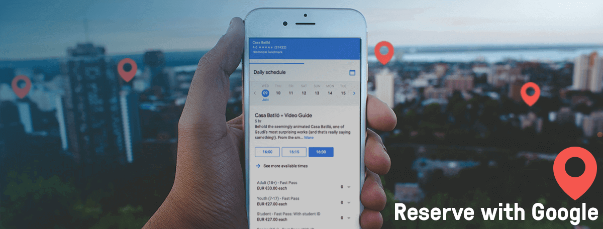 Reserve with Google Is Changing the Tours and Activities Industry — and bookingkit Is on Board