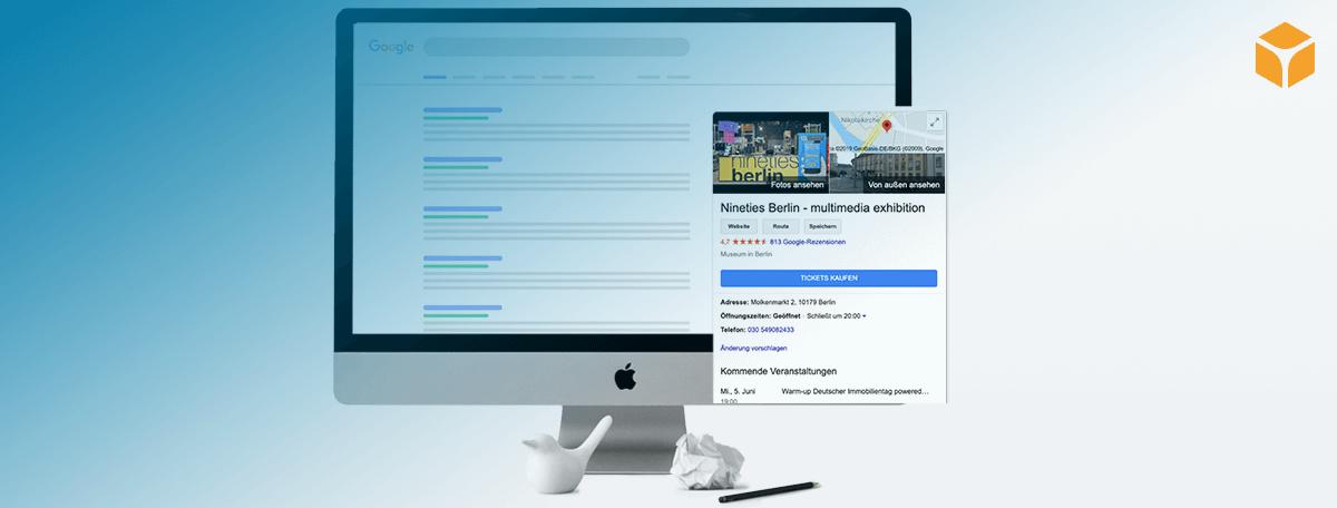 Kurzanleitung Reserve with Google – der nie dagewesene Reichweiten-Schub