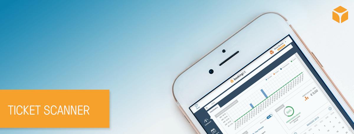 Ticket scanner: il tuo ufficio a portata di smartphone con l'app bookingkit
