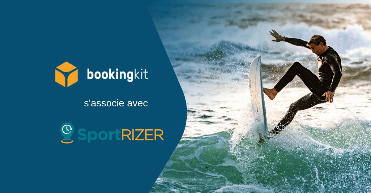 bookingkit s'associe avec SportRIZER