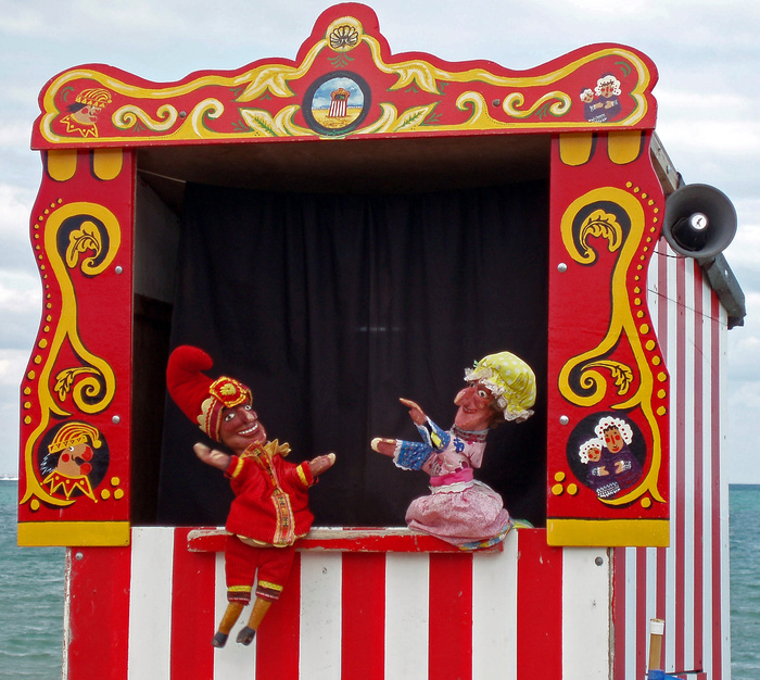 Swanage punch   judy
