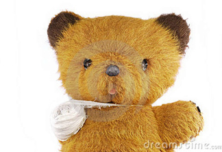 Teddy bear bandage 11996647