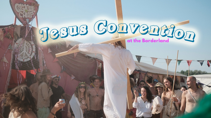 Jesus convention banner copy
