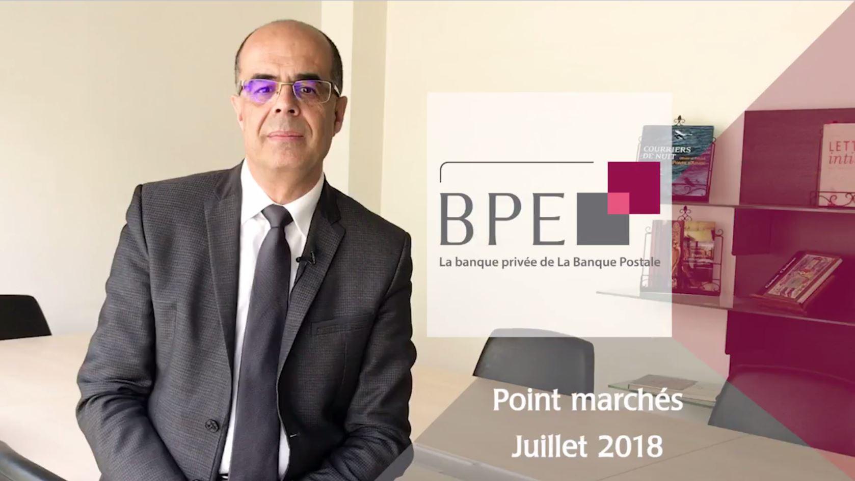 Point marchés - juillet 2018