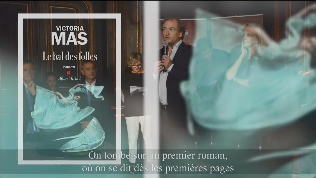 4e édition du Prix Patrimoines de la Banque Privée BPE - Pitch du roman lauréat par Didier van Cauwelaert