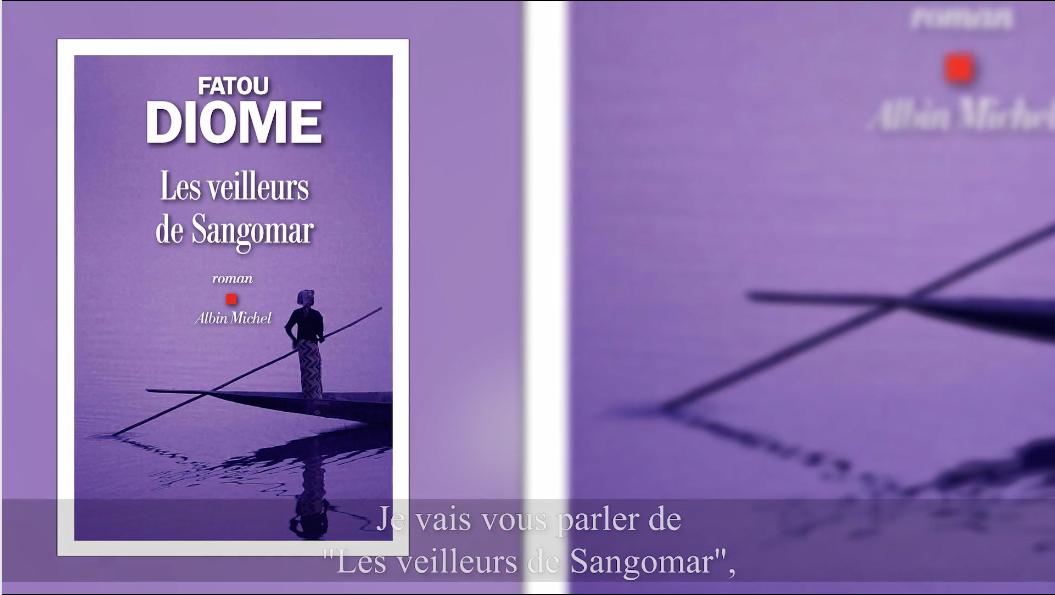 """4e édition du Prix Patrimoines de la Banque Privée BPE - Pitch du roman """"Les veilleurs de Sangomar"""" de Fatou Diome par Daniel Picouly"""