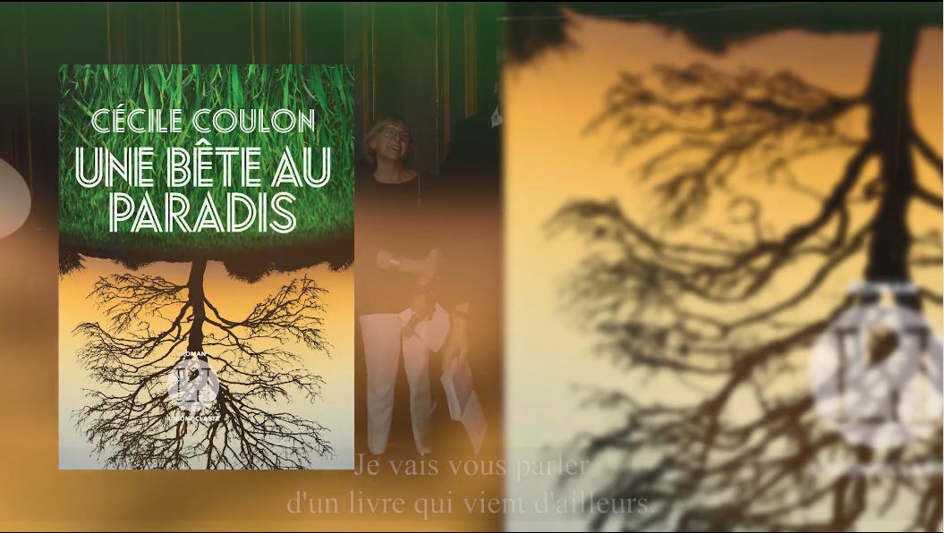 """4e édition du Prix Patrimoines de la Banque Privée BPE - Pitch du roman """"Une bête au Paradis"""" de Cécile Coulon par Pierre Vavasseur"""