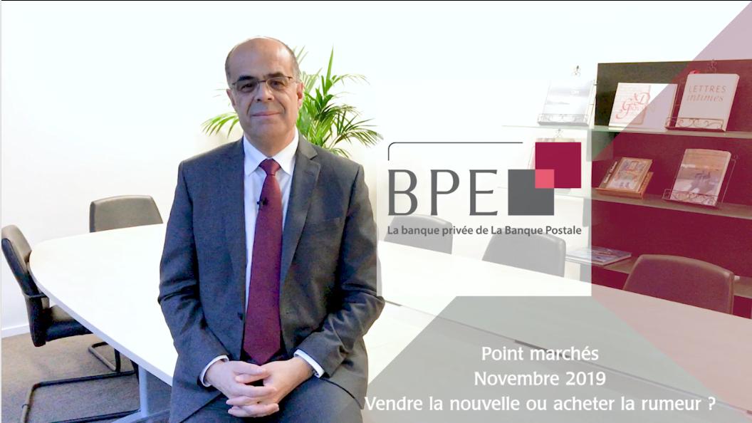 Point marchés Novembre 2019