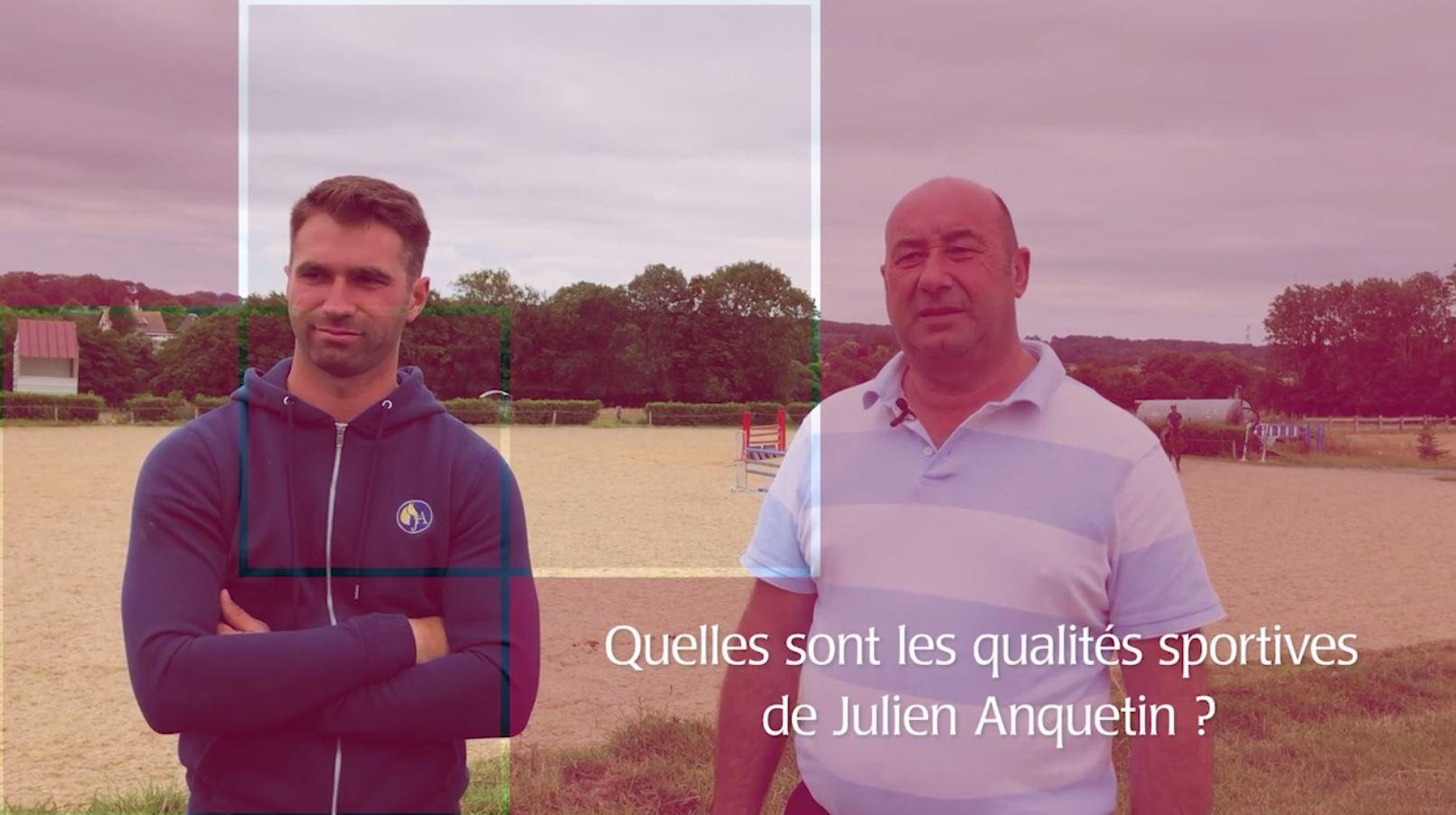 Julien Anquetin : le talent de père en fils