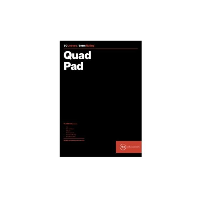 rbe plain paper and papersmart products graph and quad pads quad