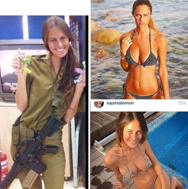 6b7f6990cdcd009a6d1b58f51d570520 - סקסיות בצבא (30 תמונות)