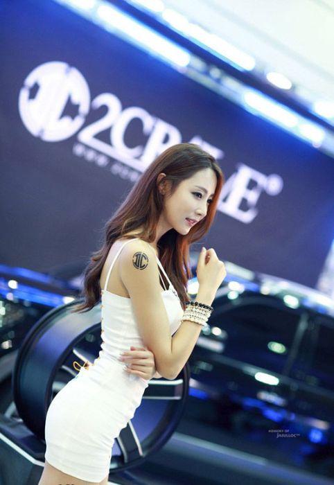 340052aad2167c377ee14a2e1ecd41f8 - דוגמניות תצוגה מתערוכת רכב Auto Salon בסיאול (43 תמונות)