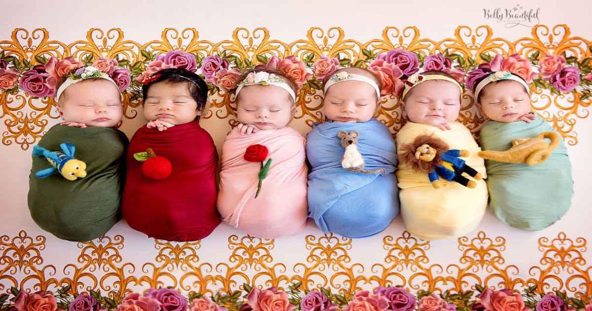 0287b1dc4bbb79157393b32ce1b028a3 - תינוקות מצולמות בסטייל נסיכות דיסני