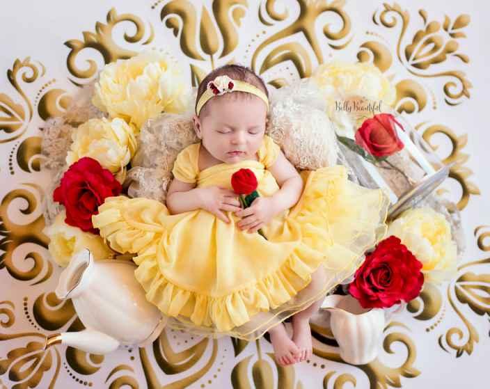 8a2d62a521a02845aeae8903646685d5 - תינוקות מצולמות בסטייל נסיכות דיסני