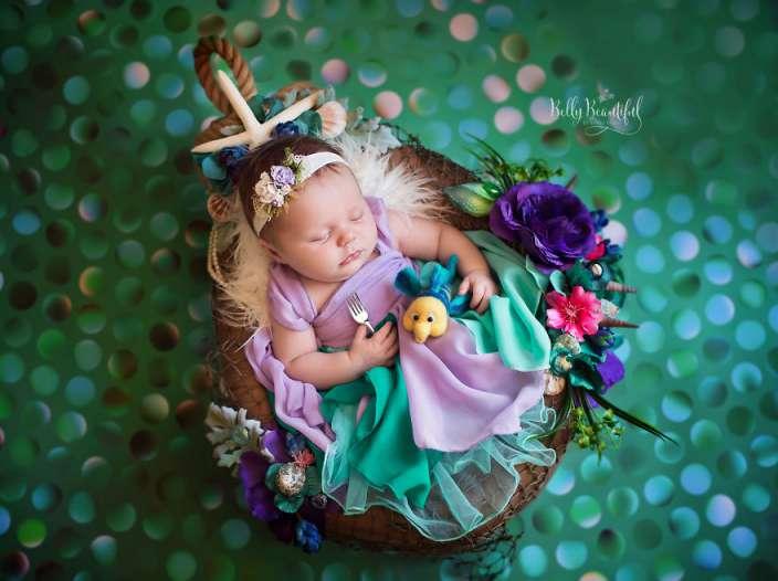 4d7311f1bdcf7e3a96d7dbb2e377370a - תינוקות מצולמות בסטייל נסיכות דיסני