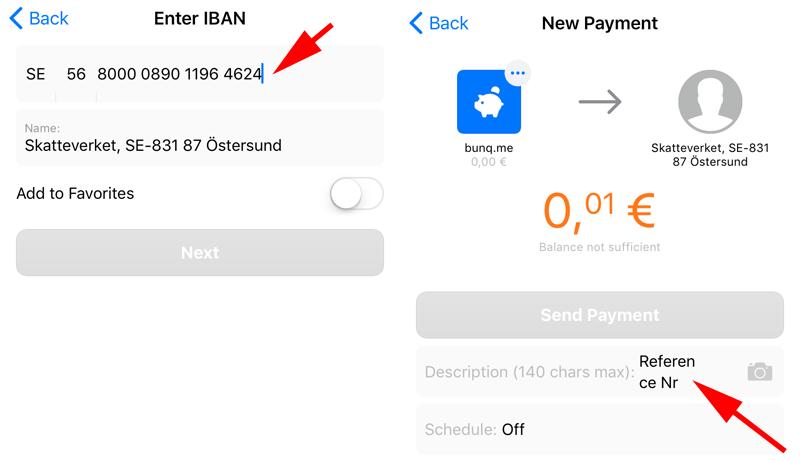 International payments - bunq Together