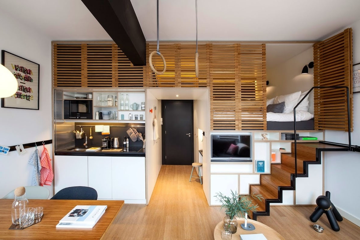 home office studio. Zoku Loft An Intelligently Designed Small Home Office Studio Pertaining To
