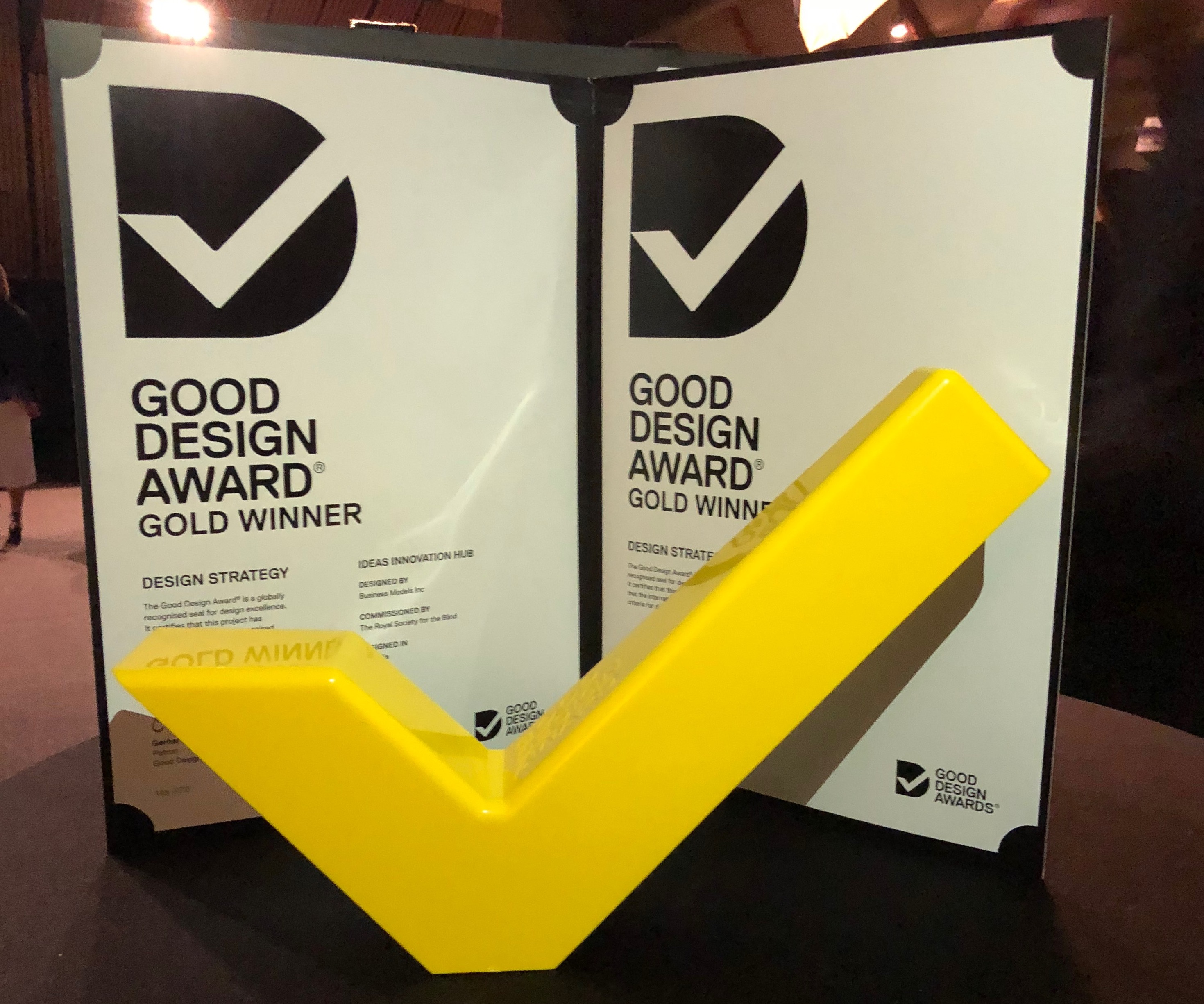 business models inc wins a good design award for the second year running business models inc. Black Bedroom Furniture Sets. Home Design Ideas