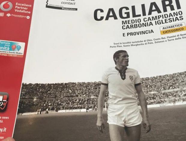 Elenco telefonico, Gigi Riva in copertina - Cagliari, Notizie