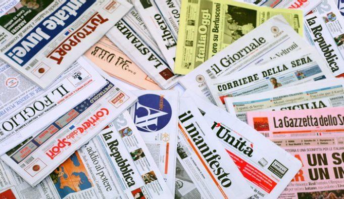 Rassegna stampa for Resoconto tratto da articoli di giornali