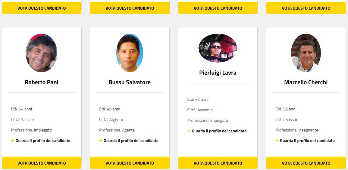 Sardegna Regionarie Bis Per Il Movimento 5 Stelle Aperte Le Votazioni