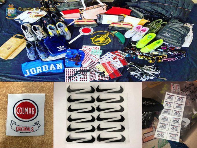 ce9d200411 Lotta alla contraffazione, nuovo blitz della Finanza: sequestrati 6617  prodotti