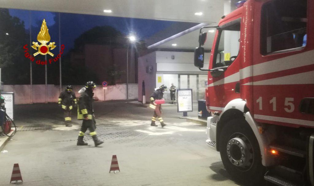 Cagliari, distributore perde carburante: intervento dei ...