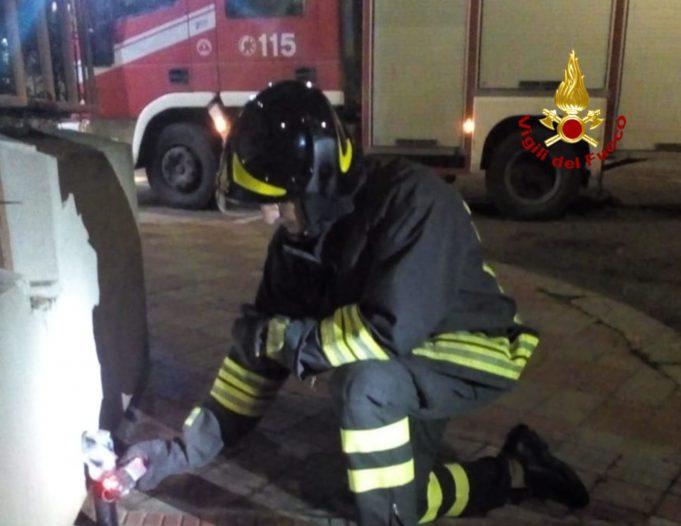 Cagliari, perdita di gas: intervento dei vigili del fuoco ...